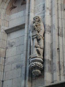 Agrippina-Statue am Ratsturm