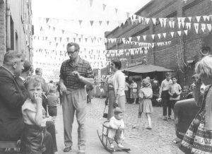 Kirmes in der Zugasse 1961 - Foto: Erik Schwarz
