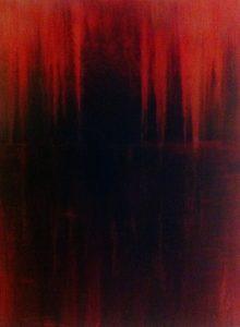 27 Öl, Standöl auf Lw., 40*30 cm, 2013