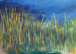 #15 Pigmente, Acryl auf Lw., 50*70 cm, 2011