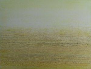 #98 Pigmente, Gummi arabicum, Sand, Eisenpulver, Aquarell, Acryl auf Lw., 60*80 cm, 2016