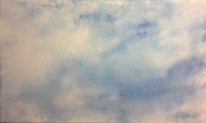 #126 Aquarell auf Lw., 30*50 cm, 2017