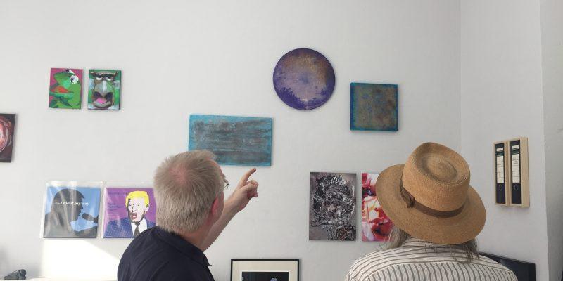 """Gruppenausstellung """"Best off ... 2018"""" im PETERSBURGER Raum für Kunst 2018"""