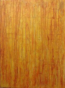 #112 [Kapillaren] Pigmente, Acryl auf Lw., 40*30*3 cm, 2017