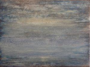 #114 Pigmente, Chroma Kupfer, Marmormehl, Gummi arabicum auf Lw., 30*40 cm, 2017