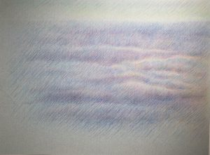 [Norddeich] Farbstift auf Chamoispapier, 24*32 cm, 2007