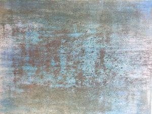 #137 Pigmente, Sand, Eisen- und Goldpulver, Dammarfirnis auf Lw., 30*40 cm, 2018, € 450,-