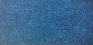 #124 Pigmente, Marmormehl, Gummi arabicum, Acryl auf Lw., 20*40 cm, 2017