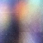Im Kölner Dom - Licht vom Südquerhausfenster (Gehard Richter) auf dem Boden