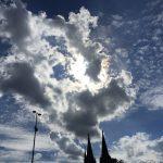 Wolken über dem Kölner Dom - 26.07.2020