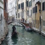 Kanal in Venedig Dezember 2008