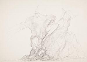 [Aufforderung zum tanz] Bleistift auf Paoier, 42*59,5cm, 1975