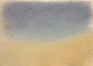 Pastellkreide auf Büttenpapier, 24*32 cm, 30.03.2021